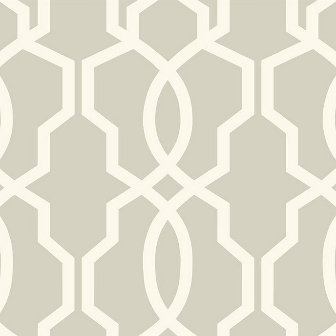 imperial trellis wallpaper swatch graywhite - Trellis Wall Paper