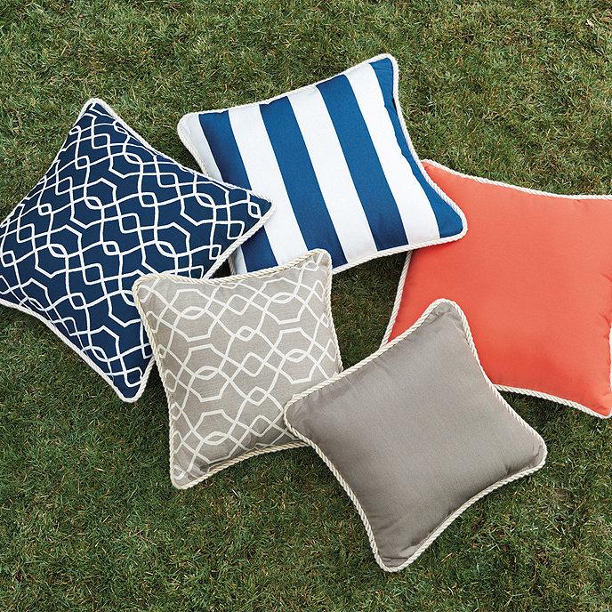 Corded Outdoor Pillows
