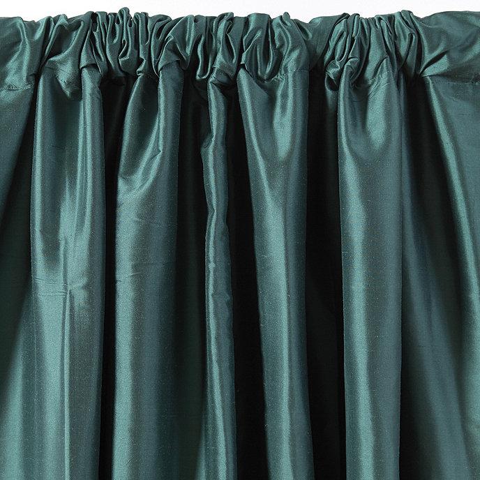 Dupioni Silk Drapery Panel