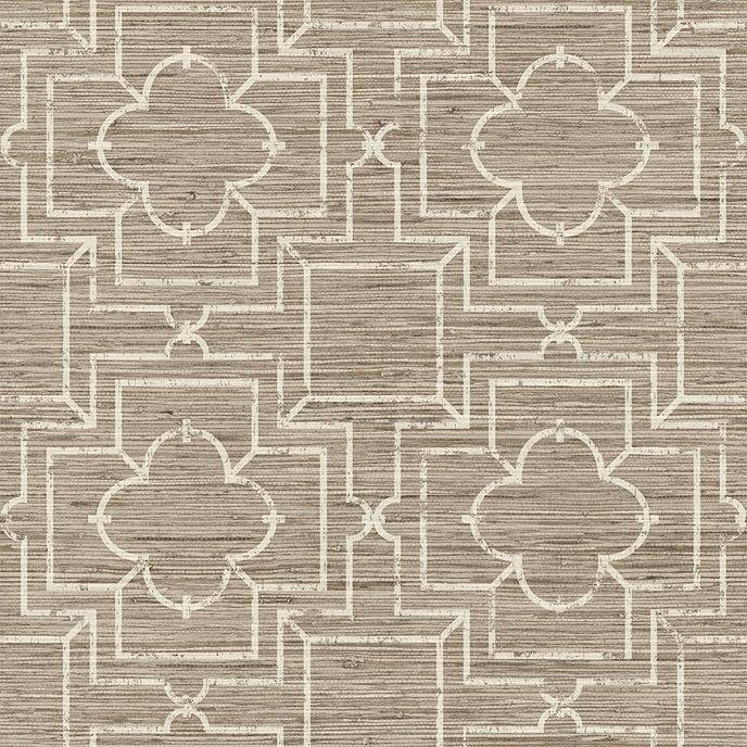 port trellis wallpaper double roll - Trellis Wall Paper