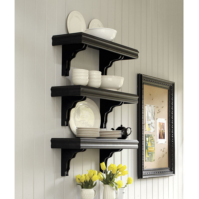 cafe shelving 12 inch deep ballard designs. Black Bedroom Furniture Sets. Home Design Ideas