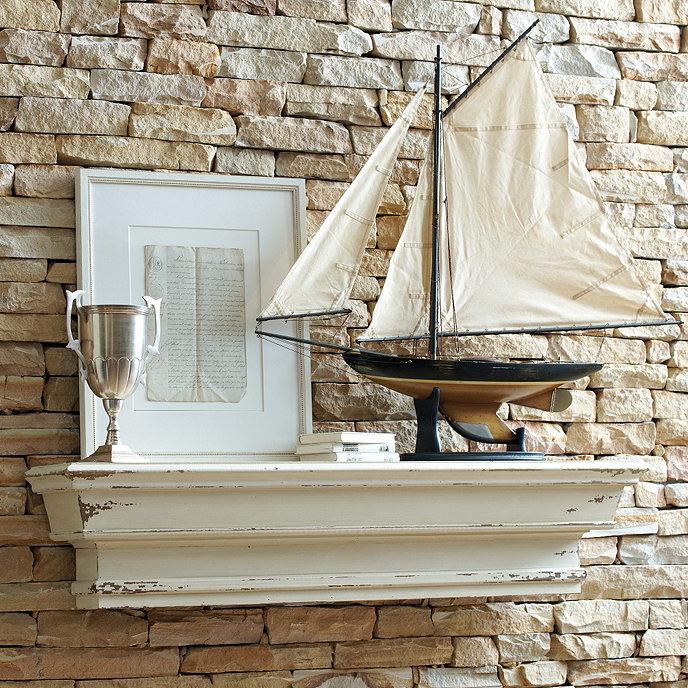 Rouen Mantle Shelf