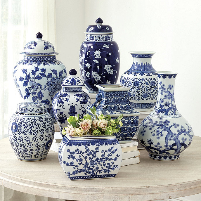 Blue white chinoiserie collection ballard designs for Chinoiserie design