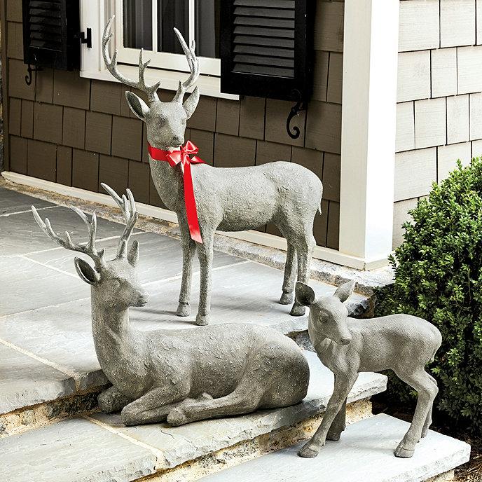 Garden Decor Deer: Ballard Designs