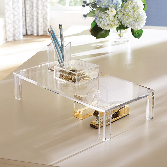 Acrylic Stand Designs : Livy acrylic stand ballard designs