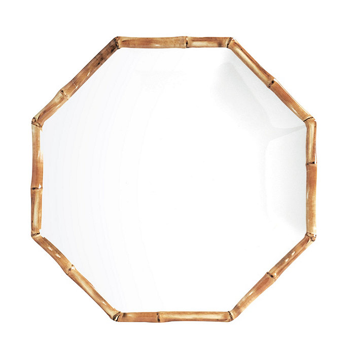 Bamboo Melamine Dinner Plate - Set of 4 | Ballard Designs