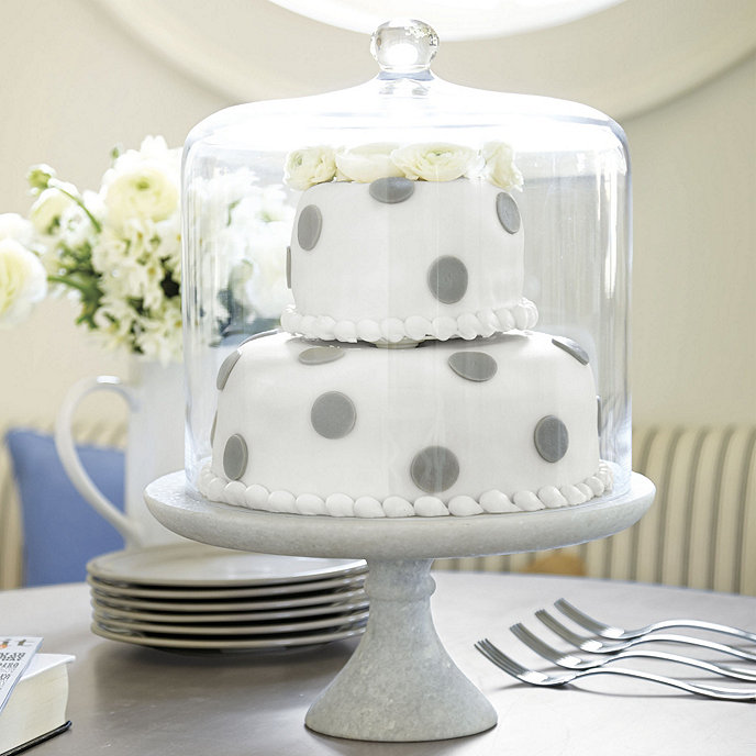 Tall Cake Stand Dome