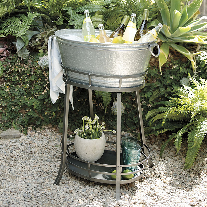 tub bisita cooper image home guam of depot collections coolest design with beverage stand