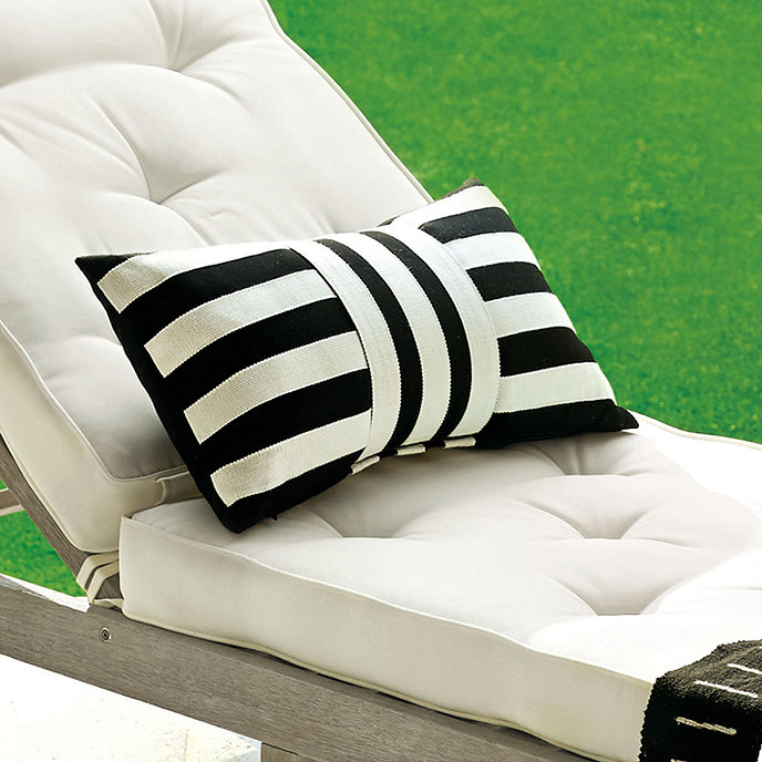 Hamptons Indoor/Outdoor Pillow | Ballard Designs