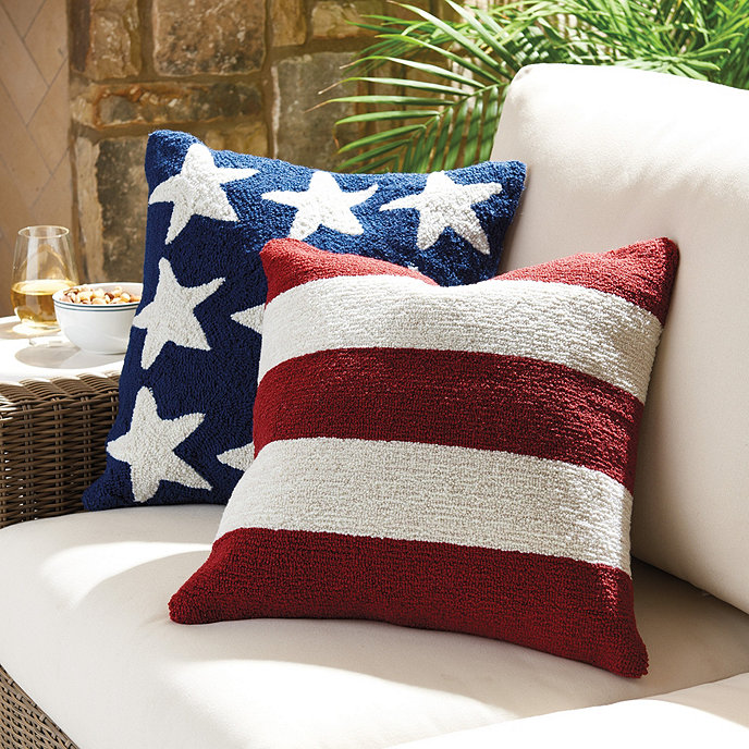 Americana Indoor/Outdoor Pillow | Ballard Designs
