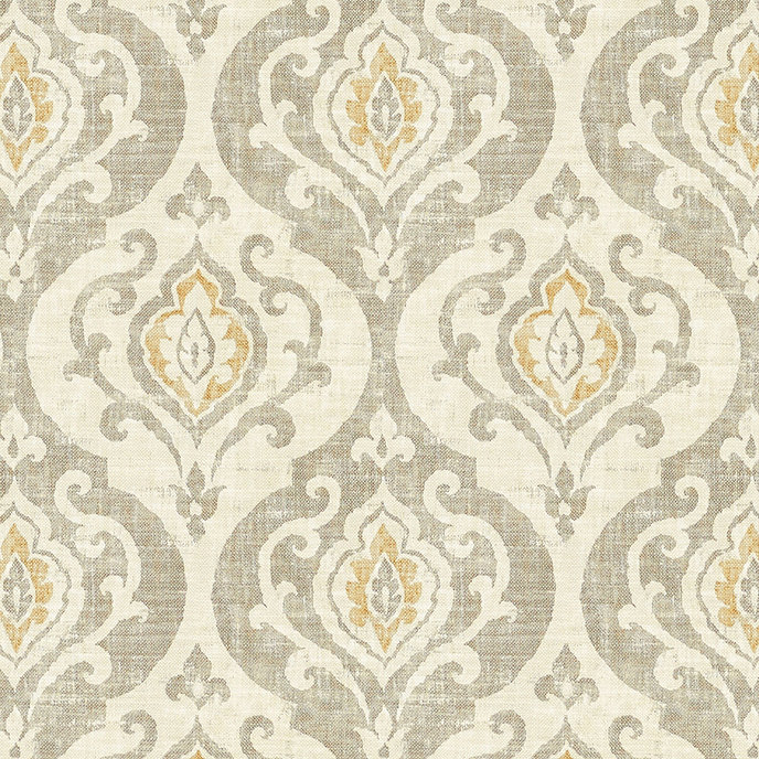 Arryanna Taupe Fabric By The Yard