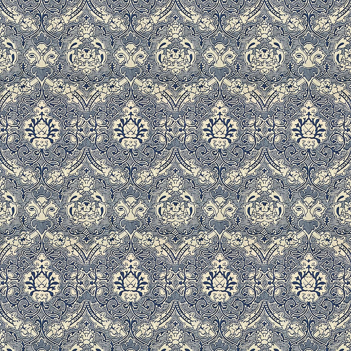 Keswick Blue Fabric by the Yard | Ballard Designs
