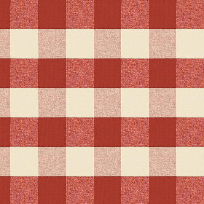 Attractive Buffalo Check Brick Fabric by the Yard | Ballard Designs HL34