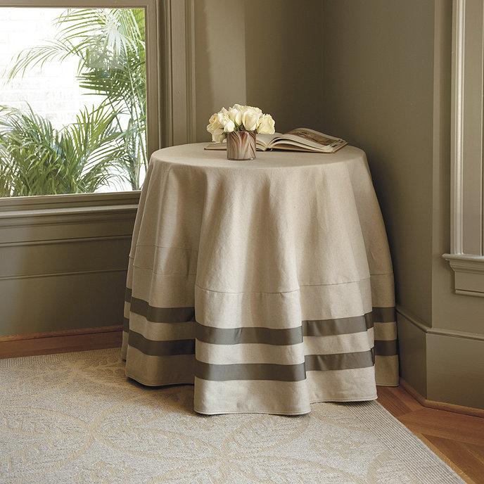 Ballard Designs Round Tablecloths