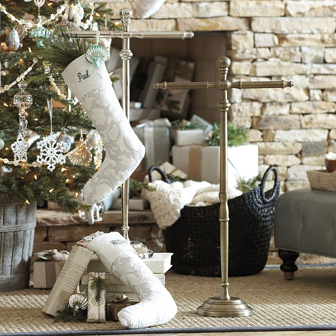 Maison Standing Stocking Holder Customer PhotosBallardDesigns
