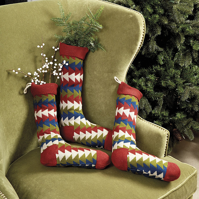 Bunny Williams Vintage Knit Stocking Share This Item Customer Photos BallardDesigns