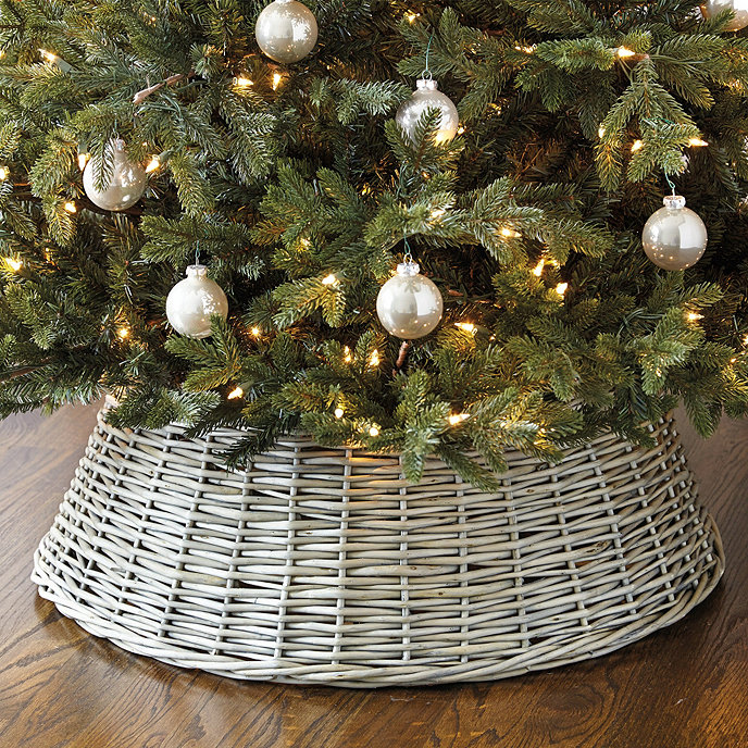 Willow Christmas Tree Basket
