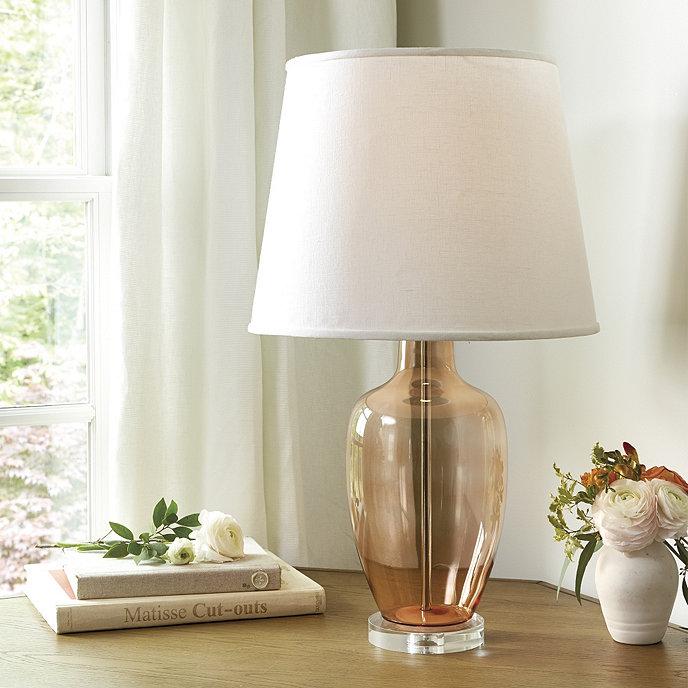 Fiona glass lamp