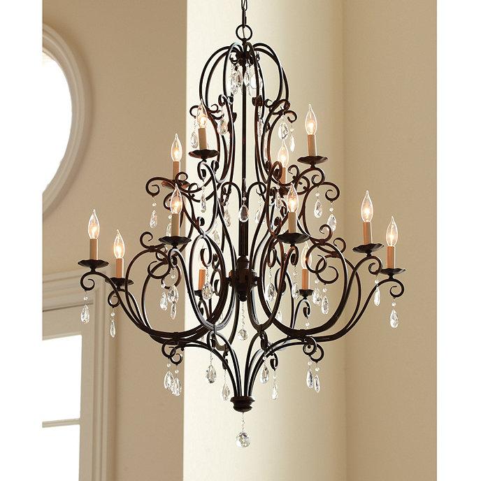 Waldorf 12 light chandelier lighting ballard designs waldorf 12 light chandelier aloadofball Images