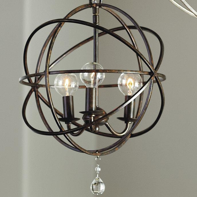 Petite orb chandelier lighting ballard designs orb petite chandelier aloadofball Images