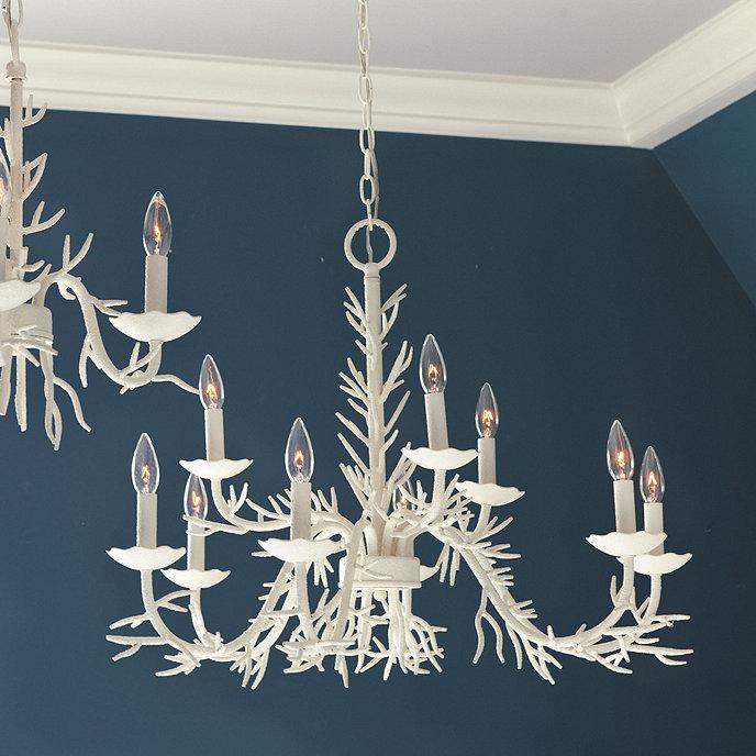 Coral 9 light chandelier ballard designs coral 9 light chandelier aloadofball Gallery