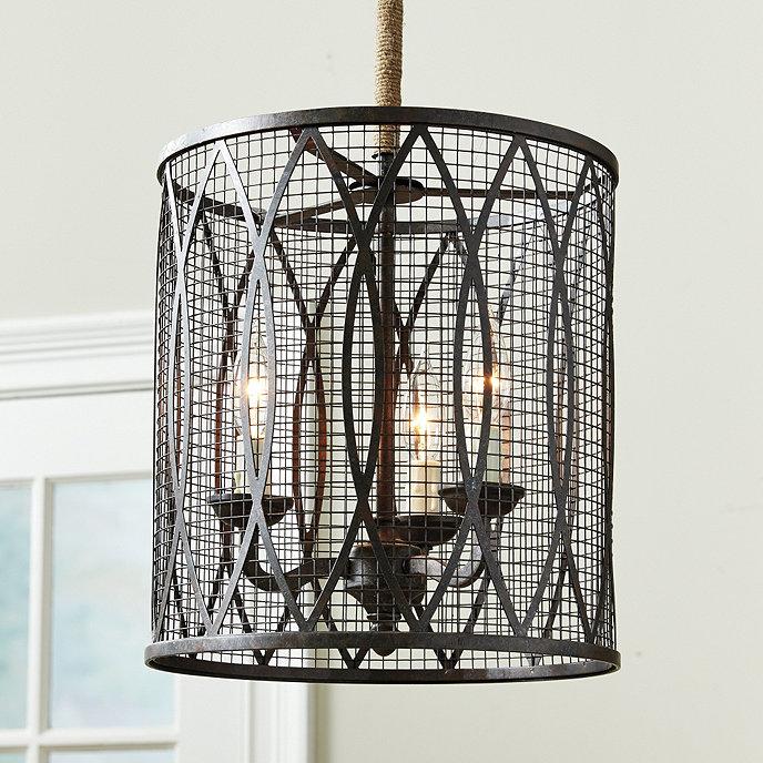Denley 3-Light Pendant | Ballard Designs