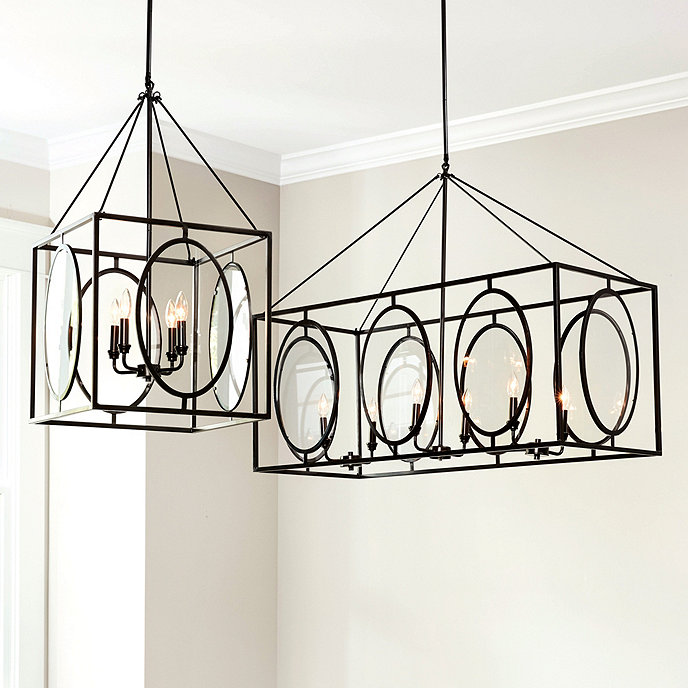 Presley oval glass chandelier ballard designs presley oval glass chandelier aloadofball Images