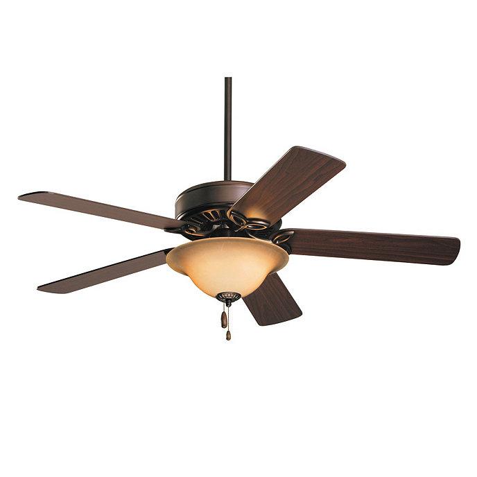 Nantucket ceiling fan with light