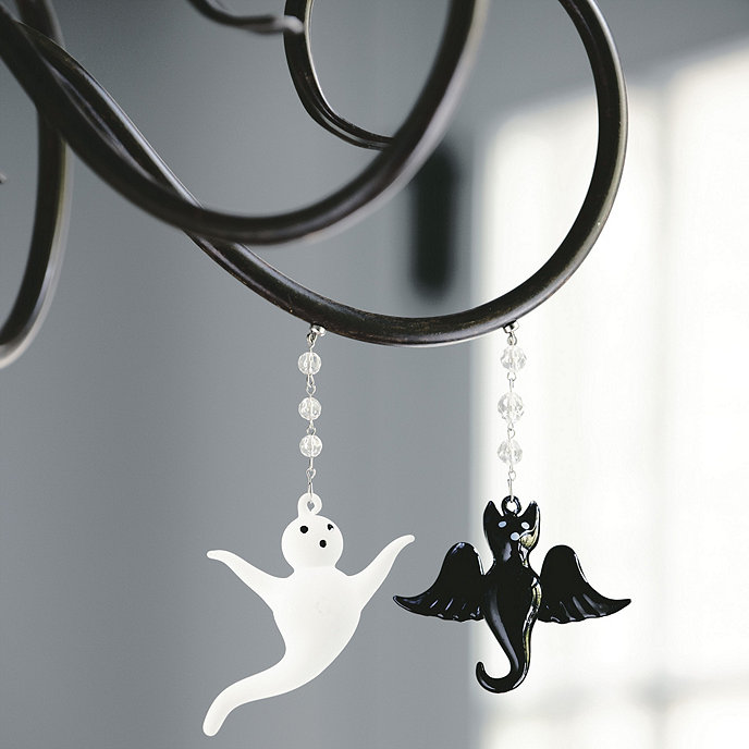 Set Of Halloween Magnetic Crystals Ballard Designs - Chandelier crystals magnetic drops