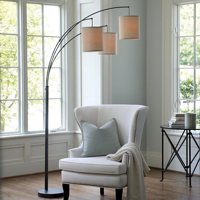 Helene Arc Floor Lamp Ballard Designs