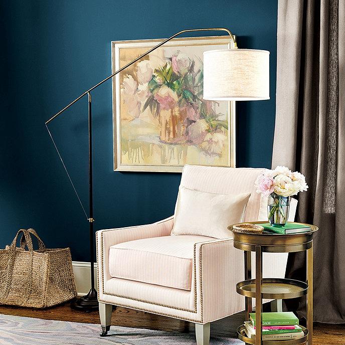 Calvin Arc Floor Lamp Ballard Designs