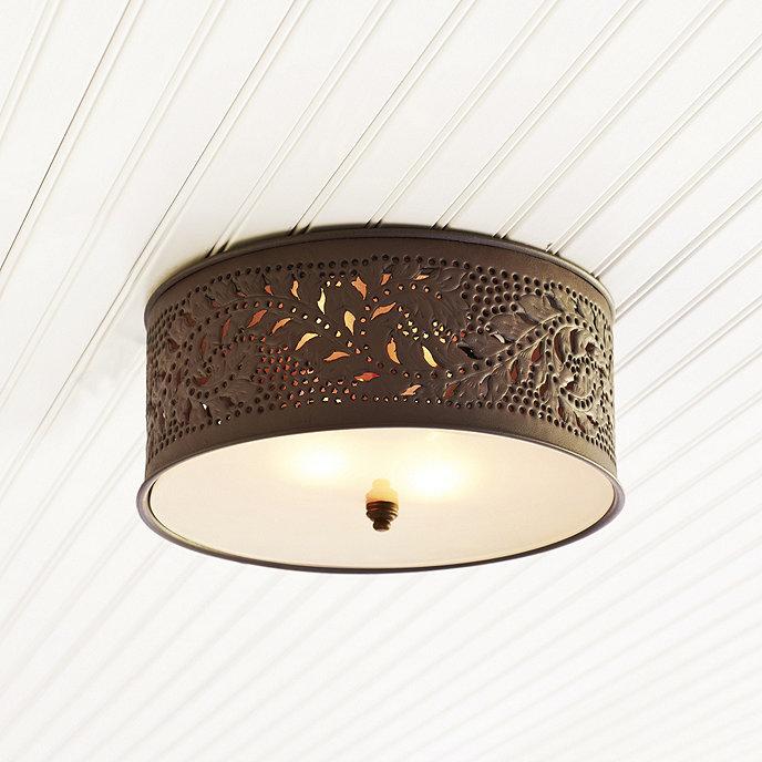 Nassar 2 light ceiling mount