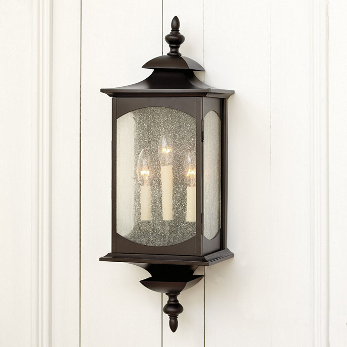 Concord 3 light outdoor sconce