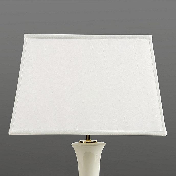 Rectangular lamp shade lighting ballard designs couture rectangular lamp shade mozeypictures Gallery