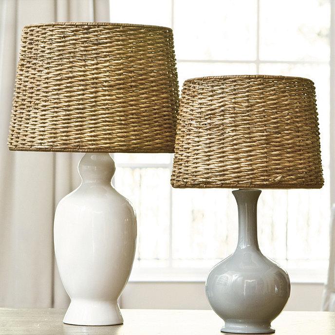 Dareau woven rattan lamp shade ballard designs dareau woven rattan lamp shade mozeypictures Images