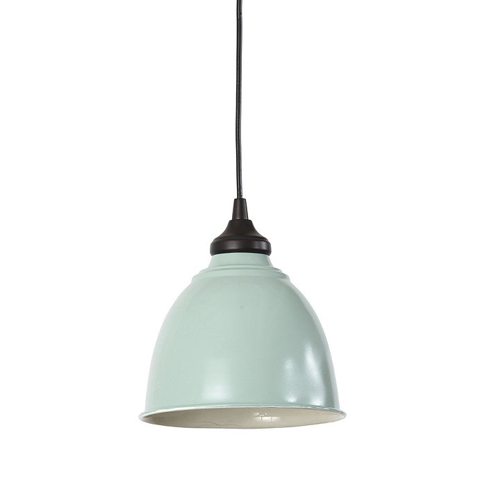 small industrial metal shade with adapter for recessed can lights