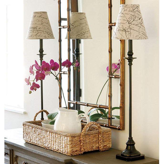 Maria buffet lamp with shade lighting ballard designs maria buffet lamp mozeypictures Images