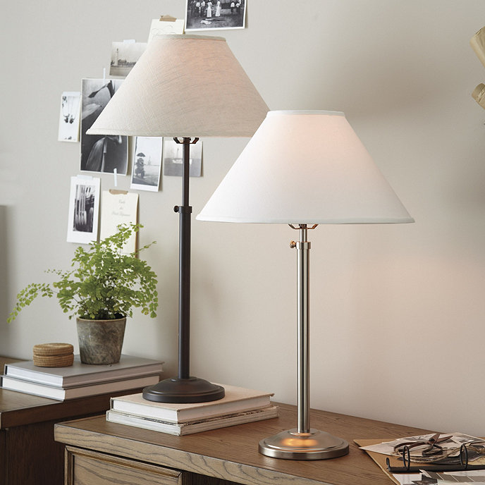 Hanover adjustable table lamp ballard designs hanover adjustable table lamp aloadofball Image collections