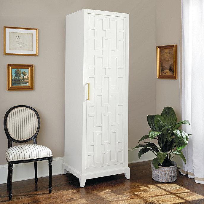 Valene Single Door Cabinet Ballard Designs