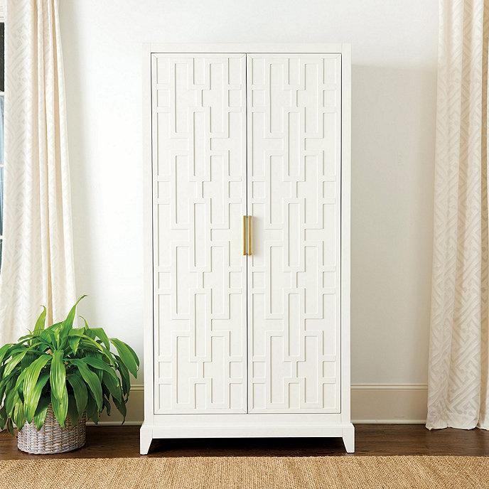 Valene Double Door Cabinet Ballard Designs