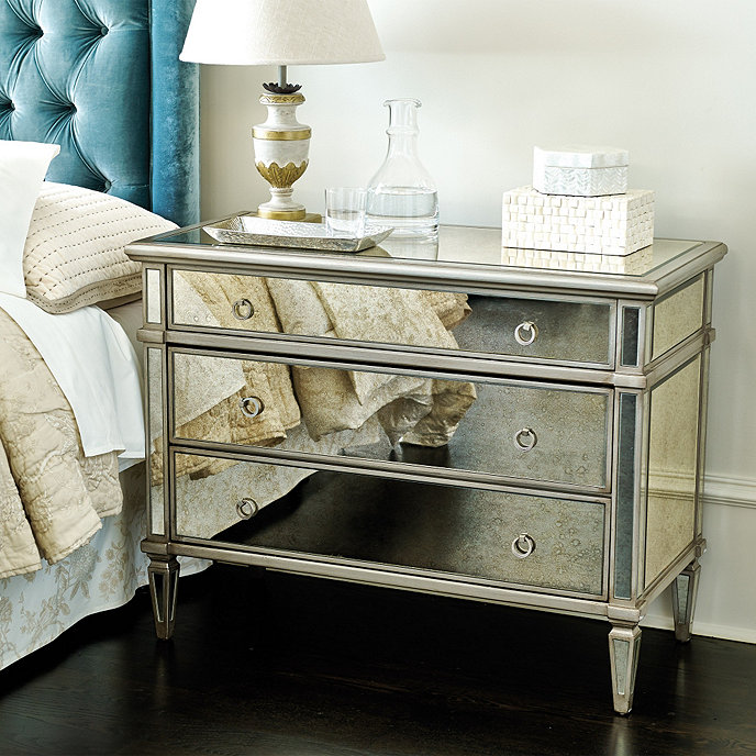 Mirrored 3 Drawer Chest Home Ideas