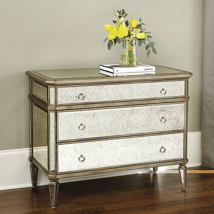 three traditional accent drawers mirrored product antique cabinets chests of and home chest design drawer