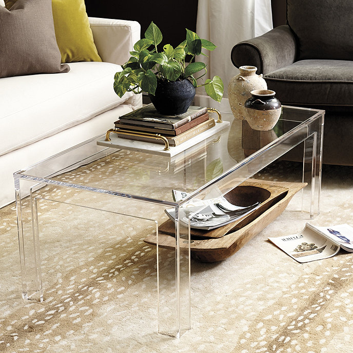 Felicity Acrylic Coffee Table