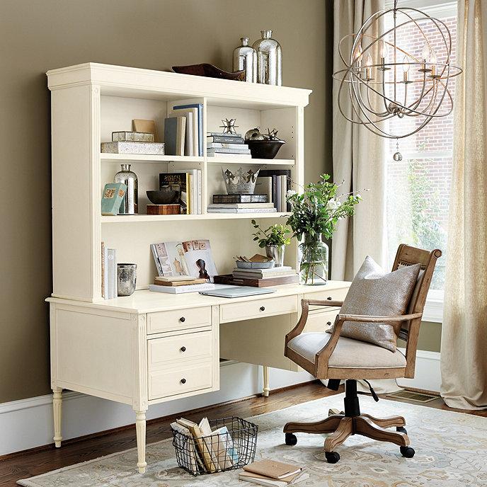 Verona Desk With Hutch