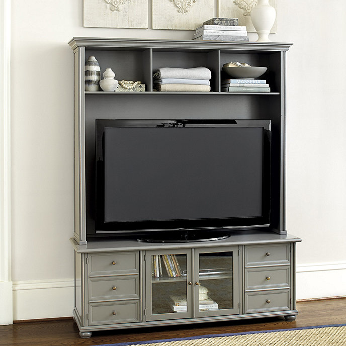 Vetrina Media 60 Inch Console With Hutch Ballard Designs