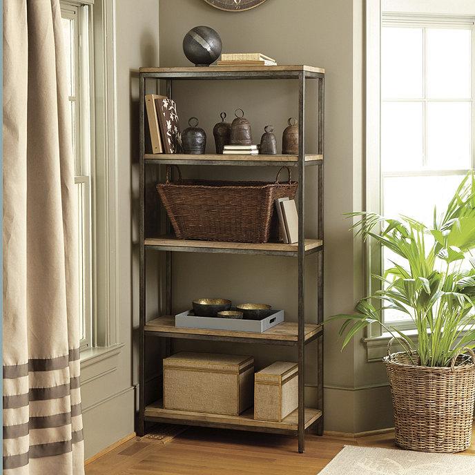 Durham Tall Bookcase | Furniture | Ballard Designs