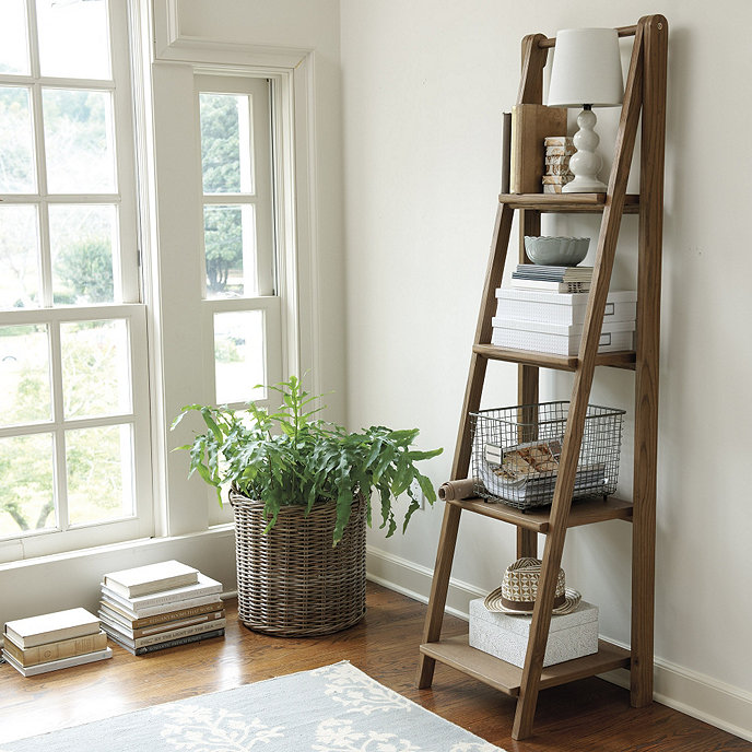 Sawhorse Tall Bookshelf | Ballard Designs