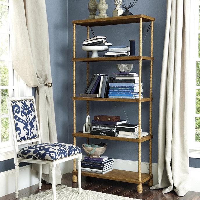 Pascal Rope Bookcase | Ballard Designs
