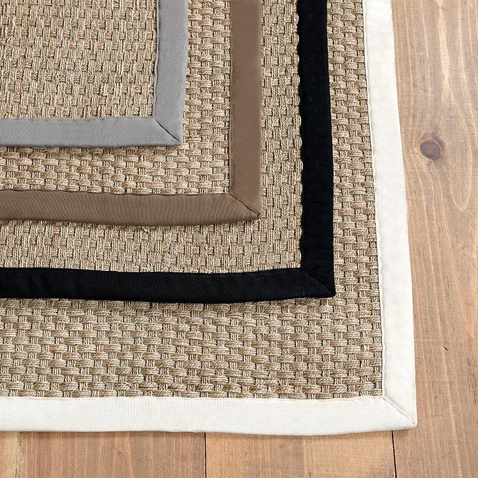 group design products fine seagrassrugroomshot x large rug rectangle border black b seagrass taylor