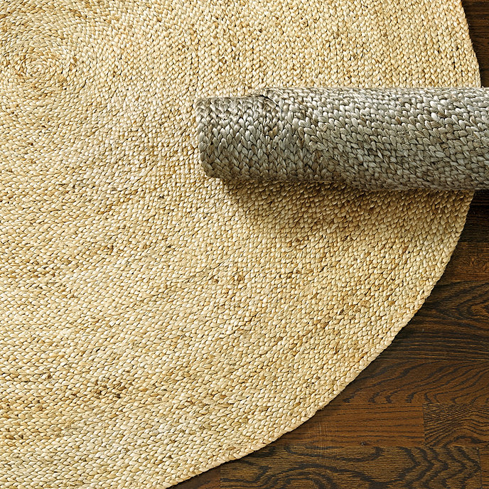Round Braided Jute Rug Ballard Designs